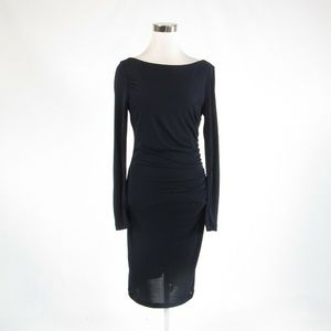 Navy blue BADGLEY MISCHKA bodycon dress 6